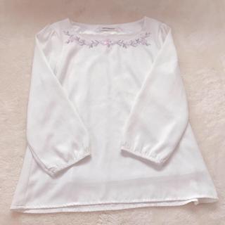ミッシュマッシュ(MISCH MASCH)の花刺繍ブラウス❤︎(シャツ/ブラウス(長袖/七分))