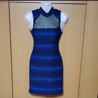 ジュエルズ(JEWELS)の新品 ブルー ワンピ ドレス キャバ(ナイトドレス)
