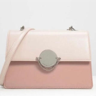 Charles and Keith - 新品 CHARLES & KEITH チェーンリンク クラッチ ショルダー