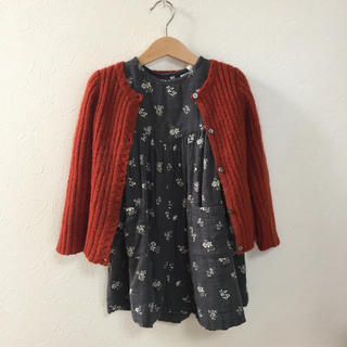 Caramel baby&child  - little cotton clothes 4-5y ワンピース
