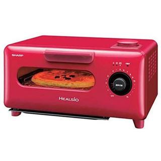 シャープ(SHARP)の【近日中削除予定】オーブントースター SHARP AX-H1-R(調理機器)