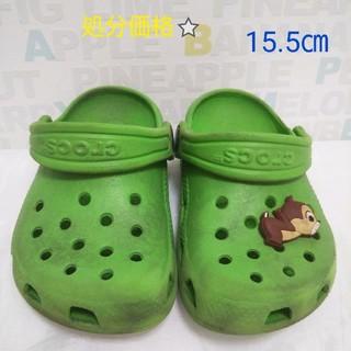クロックス(crocs)のキッズ  クロックス    15.5センチ(サンダル)