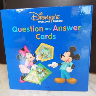 Disney - 【美品】2箱未開封  DWE  Q&Aカード  ディズニー英語システム
