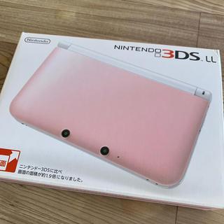 Nintendo 3DS  LL 本体ピンク/ホワイト