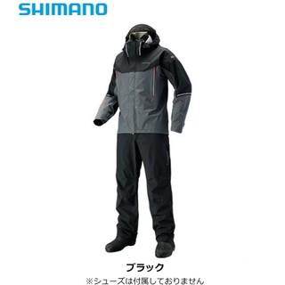 シマノ(SHIMANO)の【新品】シマノ DSアドバンススーツ RA-025S ブラック 2XLサイズ(ウエア)