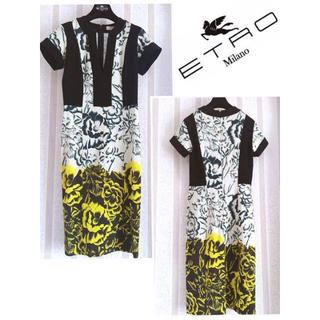 ETRO - お値下げセール☆極美品 ETRO エトロ 洗練 プレシャス  エレ女 ドレス