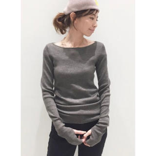 L'Appartement DEUXIEME CLASSE - ★L'Appartement★ ボードネック rib knit
