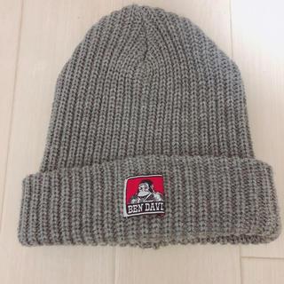 ベンデイビス(BEN DAVIS)のBEN DAVIS ニット帽 グレーニット帽 ベンデイビス(ニット帽/ビーニー)
