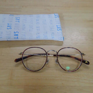 zoff ゾフ 村田倫子モデル ボストン 眼鏡