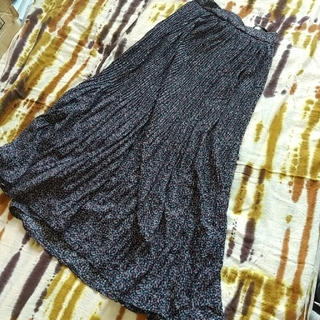 サンタモニカ(Santa Monica)のマキシスカート、プリーツ(ロングスカート)