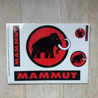 Mammut - MAMMUT ステッカー マムート