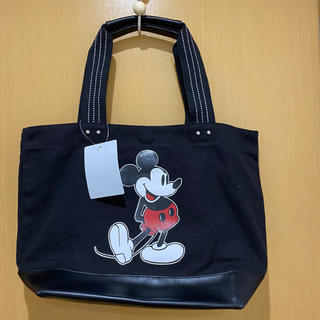 ミッキーマウス(ミッキーマウス)の【新品未使用】ミッキー トートバッグ(トートバッグ)