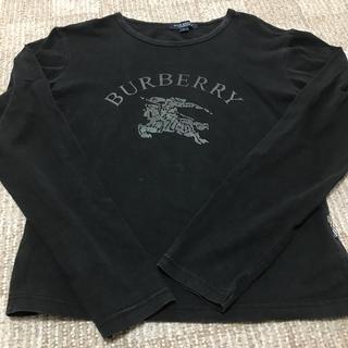 BURBERRY - バーバリー レディース 長袖 ブラック Tシャツ