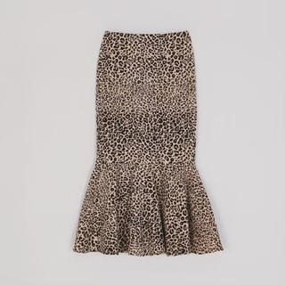 STYLENANDA - 韓国サイト購入◆ヒョウ柄マーメイドスカート