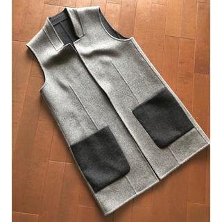 FOXEY - daisy lin reversible long vest