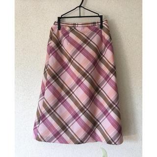 膝丈 スカート (ひざ丈スカート)