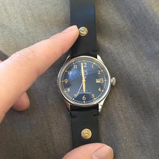 イルビゾンテ(IL BISONTE)の限定 イルビゾンテ 時計ネイビー(腕時計(アナログ))