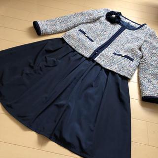 ナチュラルビューティー M スーツ 入学式 卒業式 スーツ ママスーツ