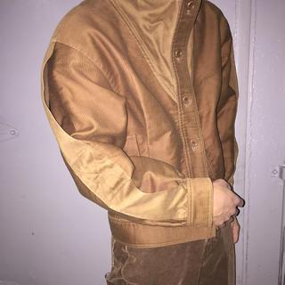 Christian Dior - dior ブラウン ハイネックジャケット ショート丈