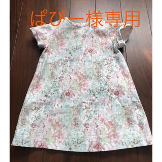 ZARA 花柄ワンピース 98