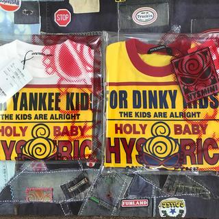 HYSTERIC MINI - ヒステリックミニ   Tシャツ2枚セット