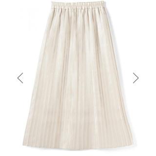 GRL - サテンプリーツスカート 白 ホワイト GRL グレイル