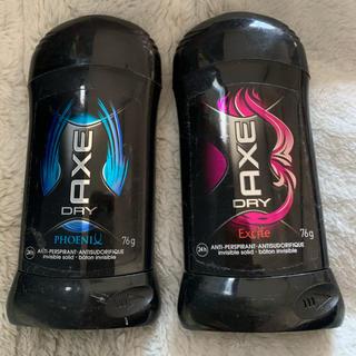 ユニリーバ(Unilever)のAXE DRY 固形デオドラント 76g ユニリーバ 2種類セット(制汗/デオドラント剤)
