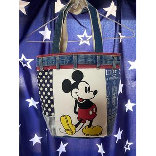 ミッキーマウス - ハンドメイド ミッキートート