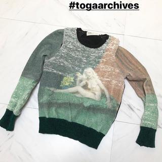 TOGA - TOGA 絵画柄ニット