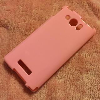 303sh TPU カバー ピンク(モバイルケース/カバー)