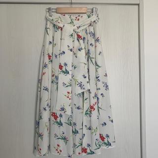 MISCH MASCH - 花柄スカート 美品