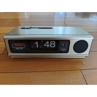 セイコー(SEIKO)のSEIKO パタパタ時計 完全動作(置時計)