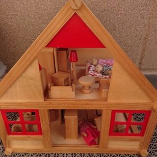 ボーネルンド(BorneLund)のドールハウスセット 木製おもちゃ(ぬいぐるみ/人形)
