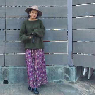 Ungrid - 3/2まで出品【値下げ】Ungrid ロングスカート