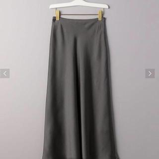UNITED ARROWS - サテンマキシスカート