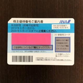 ANA(全日本空輸) - ANA株主優待券☆1枚☆航空運賃半額券☆全日空