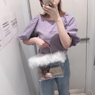 ダブルクローゼット(w closet)のw closet 袖ボリュームTシャツ(Tシャツ(半袖/袖なし))
