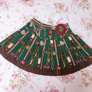 アンジェリックプリティー(Angelic Pretty)のChocolate Rosette グリーン スカート(ミニスカート)