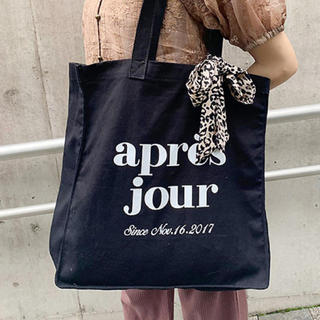 one after another NICE CLAUP - apres jour トートバッグ スカーフ バッグ キャンパスバッグ