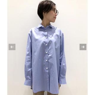 アパルトモンドゥーズィエムクラス(L'Appartement DEUXIEME CLASSE)の新品 L'Appartement New A Line Shirts(シャツ/ブラウス(長袖/七分))