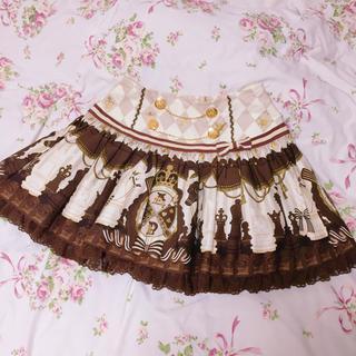アンジェリックプリティー(Angelic Pretty)のChess Chocolate アイボリー スカート(ミニスカート)