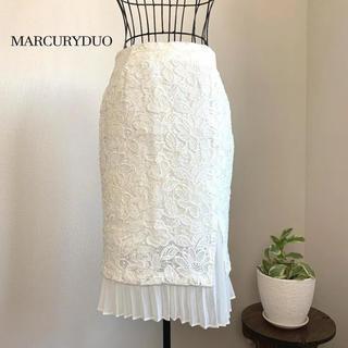MERCURYDUO - 【美品】マーキュリーデュオ プリーツタイトスカート