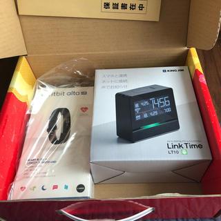 フィットフィット(fitfit)の新品 スマートウォッチの夢 fitbit alta Link Time (トレーニング用品)