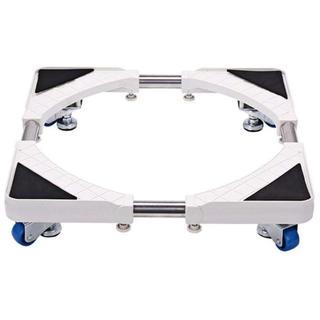 洗濯台 かさ上げ 昇降可能の洗濯機置き台 コンテナ台車 4つ移動式ホイール