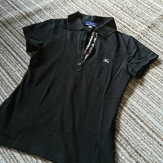 BURBERRY BLUE LABEL - バーバリー ポロシャツ
