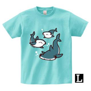 ハンマーヘッドシャークTシャツ(Lサイズ)(Tシャツ/カットソー(半袖/袖なし))