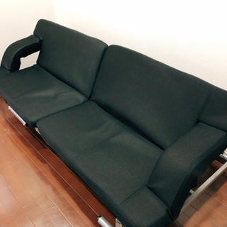 アイリスオーヤマ(アイリスオーヤマ)の折り畳みソファベッド 説明書付き(シングルベッド)