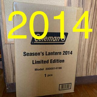 コールマン(Coleman)のコールマン シーズンズランタン2014 新品未開封(ライト/ランタン)