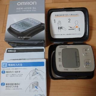 OMRON - オムロン 手首式血圧計 HEM-6220-SL