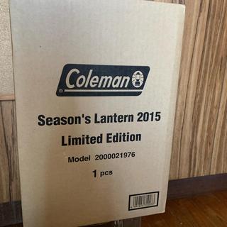 コールマン(Coleman)のコールマン シーズンズランタン 2015 未開封新品(ライト/ランタン)
